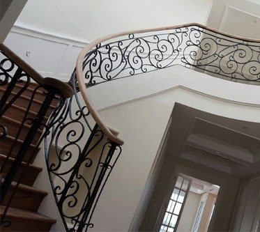 Amazing Wrought Iron Boulstraights & Staircases